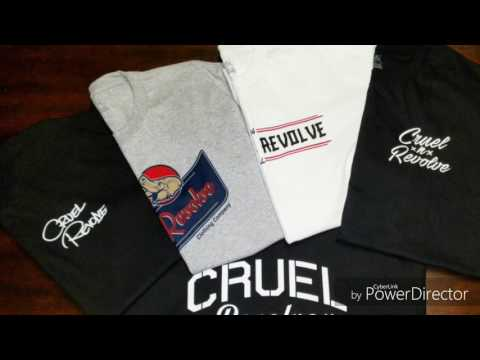 CRUEL=N=REVOLVE   CLOTHING COMPANY