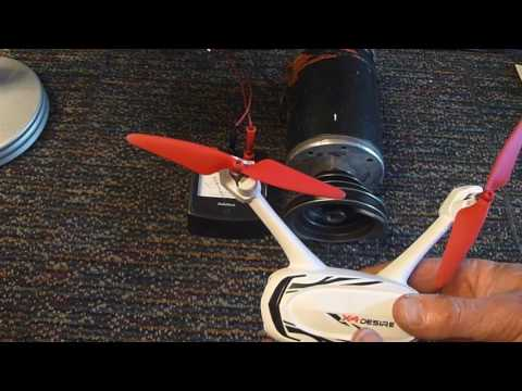 Drone motor failure from over current. What to avoid.