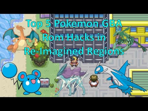 Top 5 Pokemon GBA Rom Hacks In Re-Imagined Regions