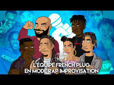 Quand French Baloo, Aliisha, Dog Logan, Louis Aoda, Fodjé, Ayma et La Mad sont en mode rap !!