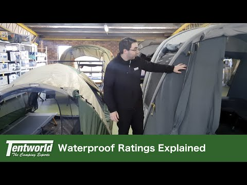 What Does The Waterproof Rating Mean On Your Tent?  Explained & Tips | What To Look For!