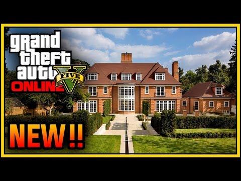 GTA 5 Online: Mansion, Apartment & House Customization DLC! (GTA 5 Executives & Other Criminals)