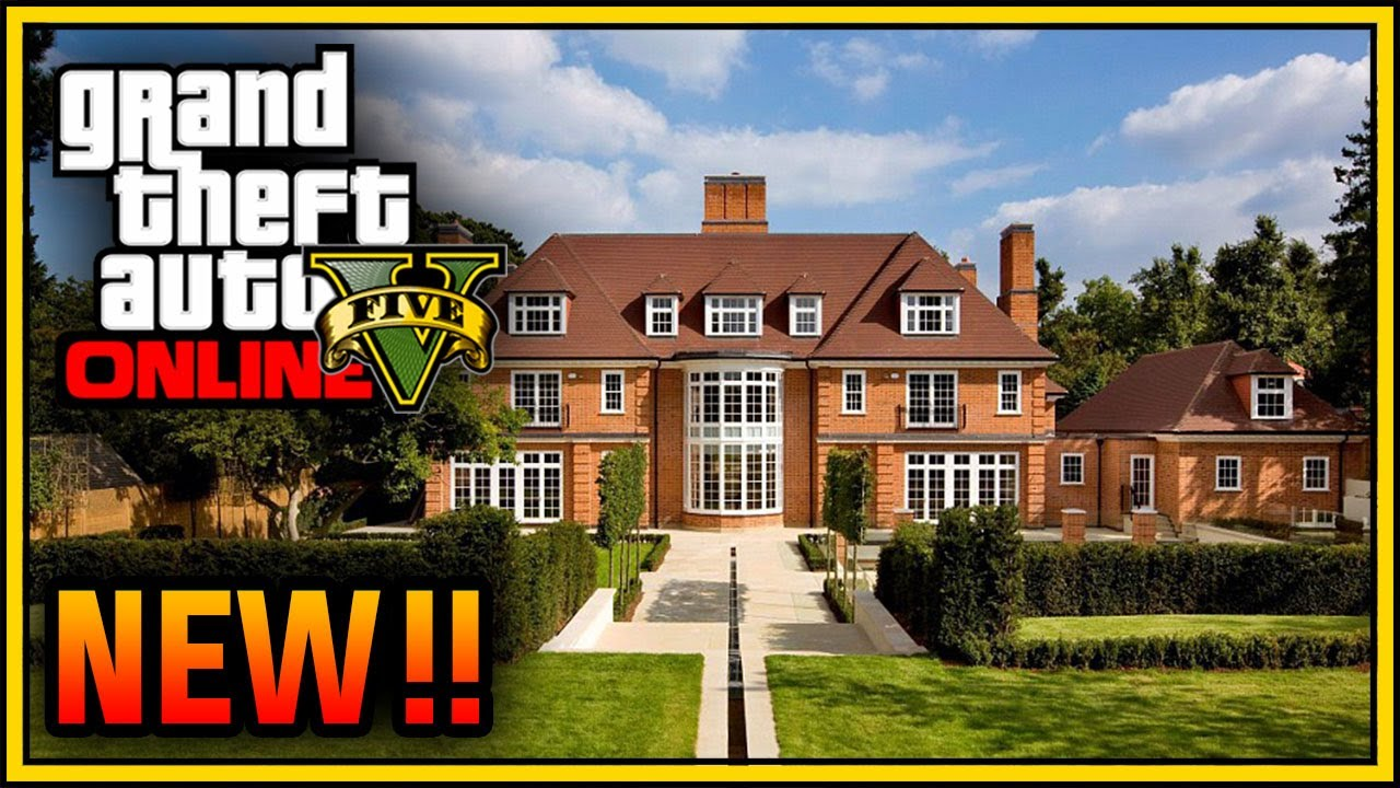Gta 5 online mansion apartment house customization dlc for Find a house online
