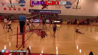 Montclair State Volleyball Highlights vs. Hunter College - 10/23/18