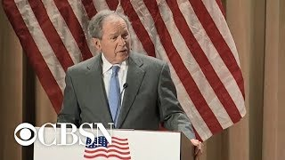 George W. Bush says immigration is a