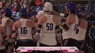Roller Derby World Cup 2018 France vs. USA