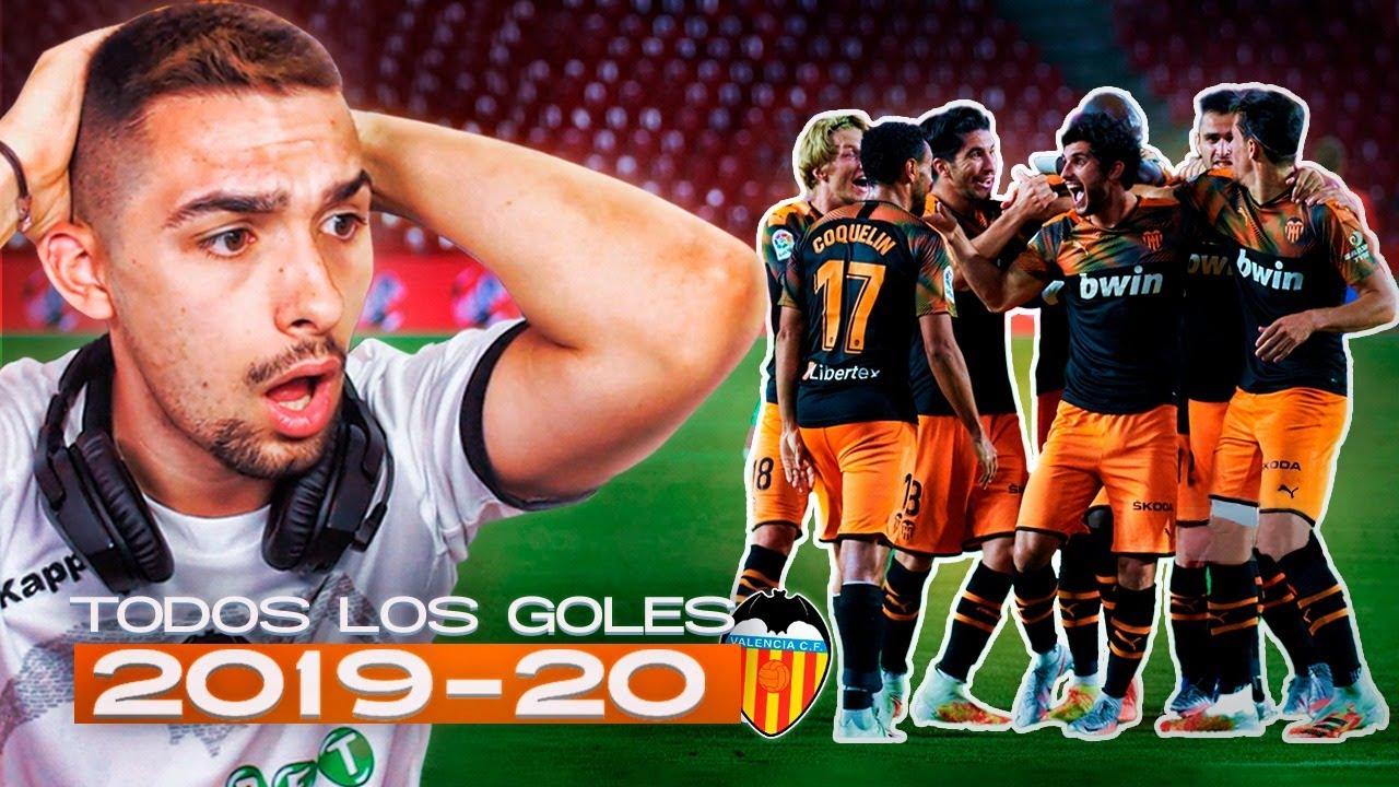TODOS LOS GOLES DEL VALENCIA CF TEMPORADA 2019-2020
