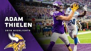 Adam Thielen 2018 Season Highlights | Minnesota Vikings
