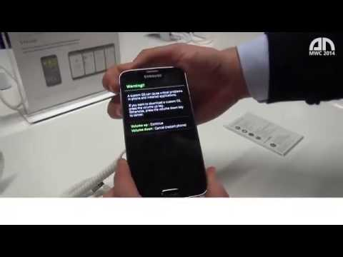 Samsung Galaxy S5 - Download-Modus (Download Mode) - MWC 2014 - androidnext.de.mp4