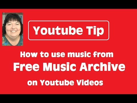 How to Use Music from Free Music Archive (FMA) on Youtube Videos - Youtube Tip