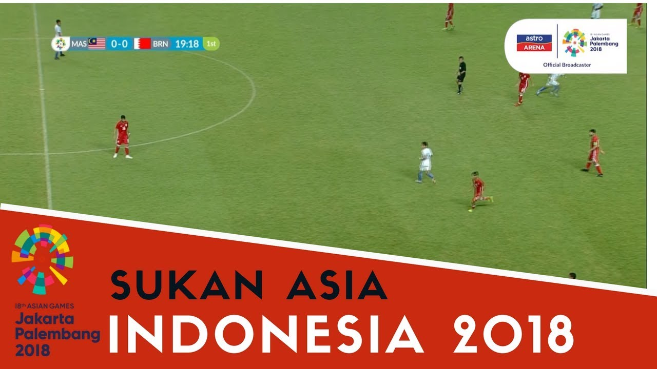 Sukan Asia Indonesia Sorotan Aksi Bola Sepak Lelaki Malaysia