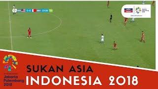 Sukan Asia Indonesia: Sorotan Aksi Bola Sepak | Lelaki | Malaysia vs Bahrain | Astro Arena