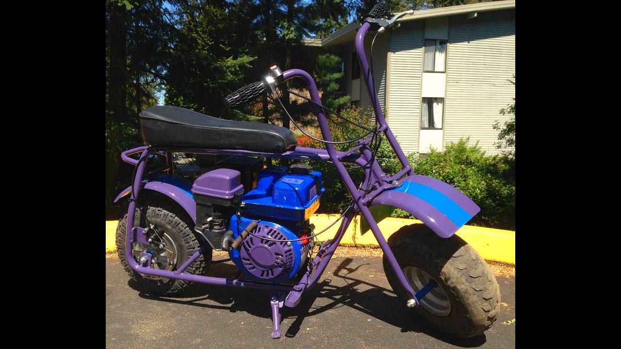Kiara S Custom Mini Bike Build Hd Youtube