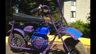 Kiara's Custom Mini Bike Build - Hd