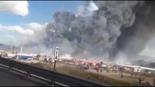 At Least 29 Dead, 70 Hurt In Mexico Fireworks Market Blast