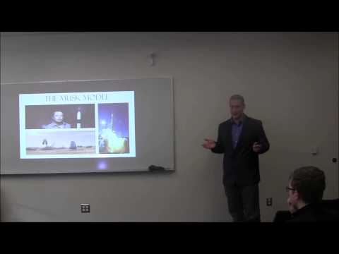 The Space Opportunity - Presentation at the University of Washington