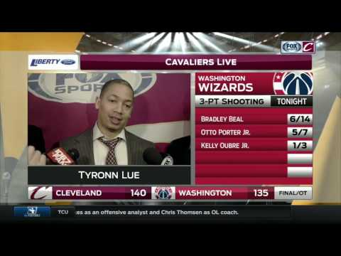 Tyronn Lue gives a humorous response to those trade rumors involving Kevin Love