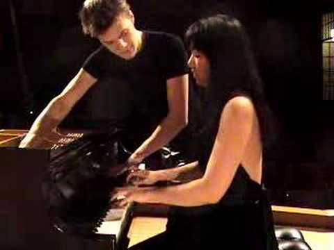 "Anderson & Roe Piano Duo play ""LIBERTANGO"" (Piazzolla)"