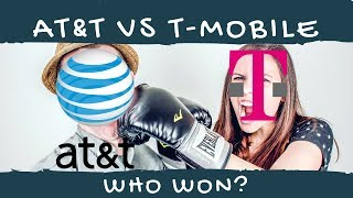 I Compared AT&T and T-Mobile's Unlimited Data Wireless Plans. Guess who won?