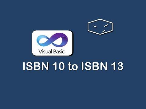 isbn 10 to isbn 13 in vb.net