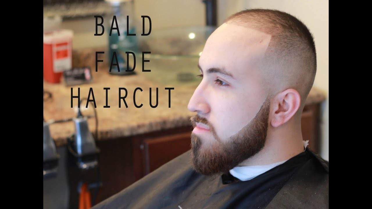 Bald Fade Haircut With Beard Skin Fade How To Shape A Beard
