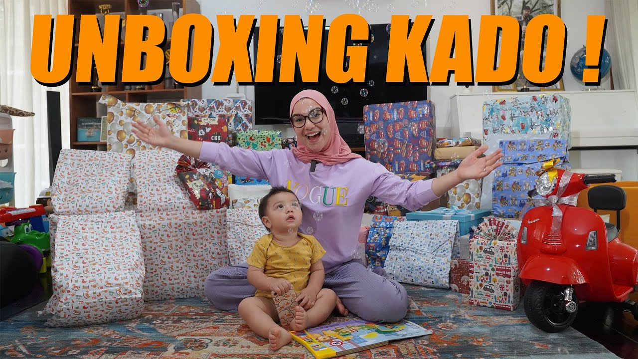 BABY AIR UNBOXING 1000 KADO ULANG TAHUN !!!