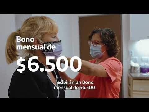 Bono para trabajadores y trabajadoras de la salud