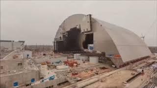 ЧЕРНОБЫЛЬСКУЮ АЭС НАКРЫЛИ КУПОЛОМ В 2017 ГОДУ