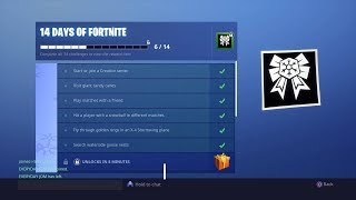 Fortnite Unlocking Gift From 14 Days Of Fortnite