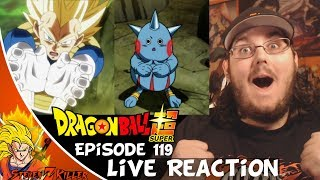 Dragon Ball Super Episode 119 HD English Subbed (Unavoidable Atack) STREAM REACTION!!!