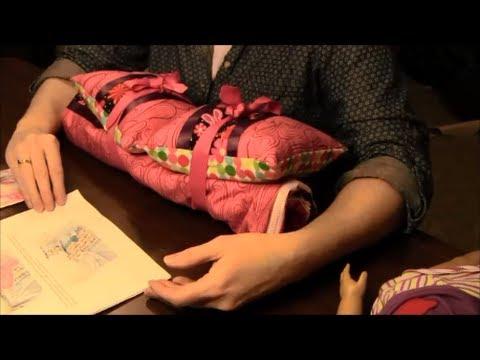 How To Make A Doll Sleeping Bag (American Girl Doll Or 18