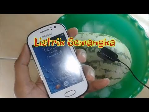 how to make a watermelon charger