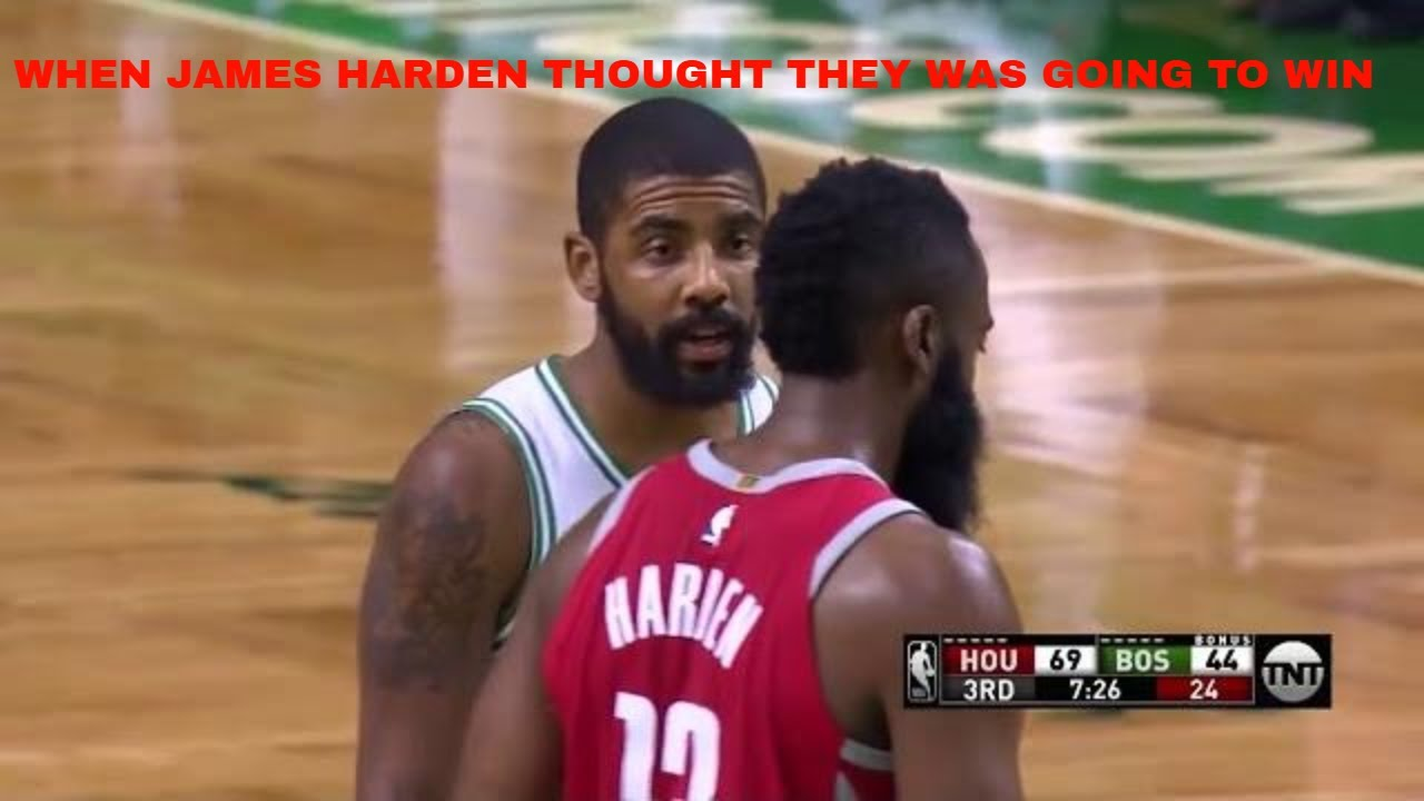 91c536f7fe0 Kyrie Irving DESTROY James Harden MVP Duel Highlights 2017 12 28 Celtics vs  Rockets TOO SICK