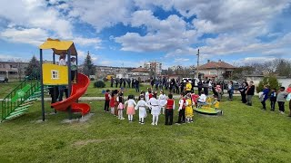 ADOPT A NEIGHBORHOOD - BULGARIA: Opening of our FIFTH Playground