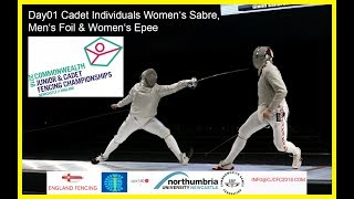 Day01 Commonwealth Junior & Cadet Fencing Championships 2018 - Piste Yellow