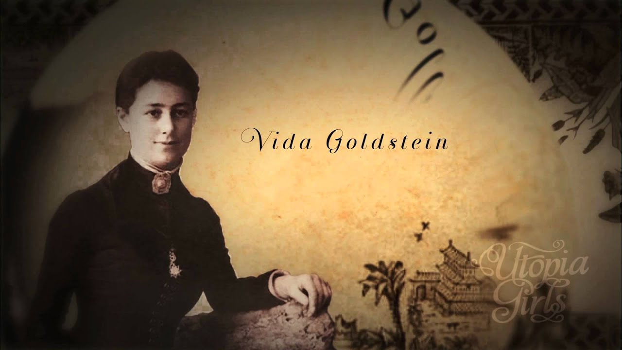 """vida goldstein When the first international women's suffrage alliance conference convened in washington in february 1902, australia's representative was its most prominent radical feminist, vida goldstein vida was then 32, """"slight in figure and attractive in personality"""", a vigorous campaigner whose platform eloquence and ready wit drew."""