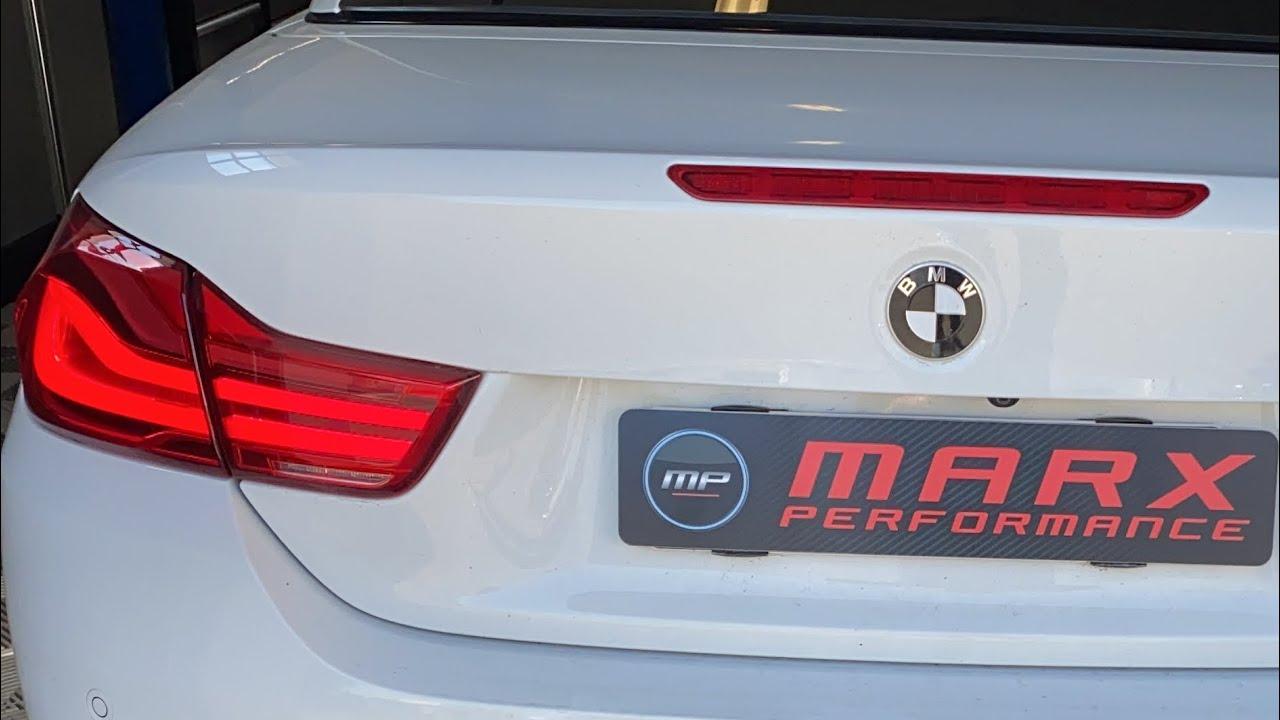 Marx Performance - BMW F30 Retrofit Alarmanlage, LED Ambientebeleuchtung und ALPINE - HIFi System