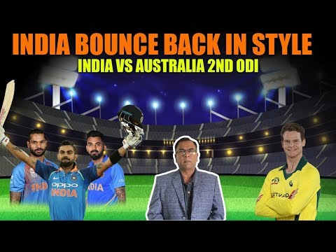 India Bounce Back In Style | India Vs Australia 2nd ODI | Basit Ali