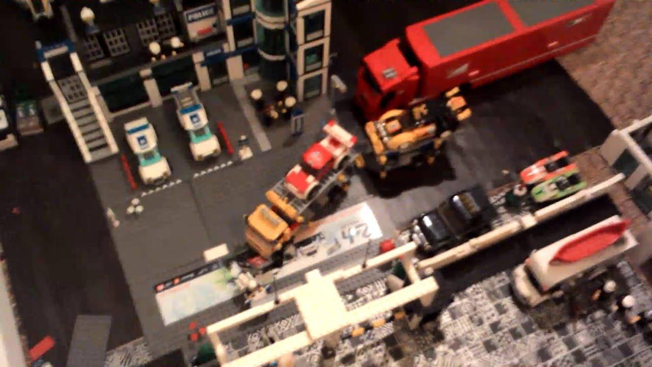 circuit et voitures de courses lego youtube. Black Bedroom Furniture Sets. Home Design Ideas