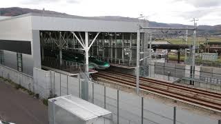 北海道新幹線出発