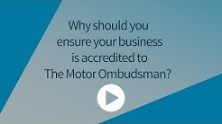 The benefits of accreditation to The Motor Ombudsman