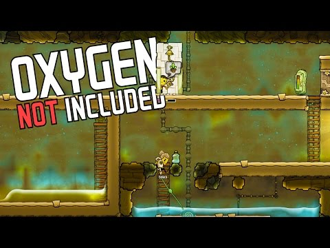 OXYGEN ASSISTING SHOWER! Using Contaminated Water - Oxygen Not Included Gameplay Highlights Part 9