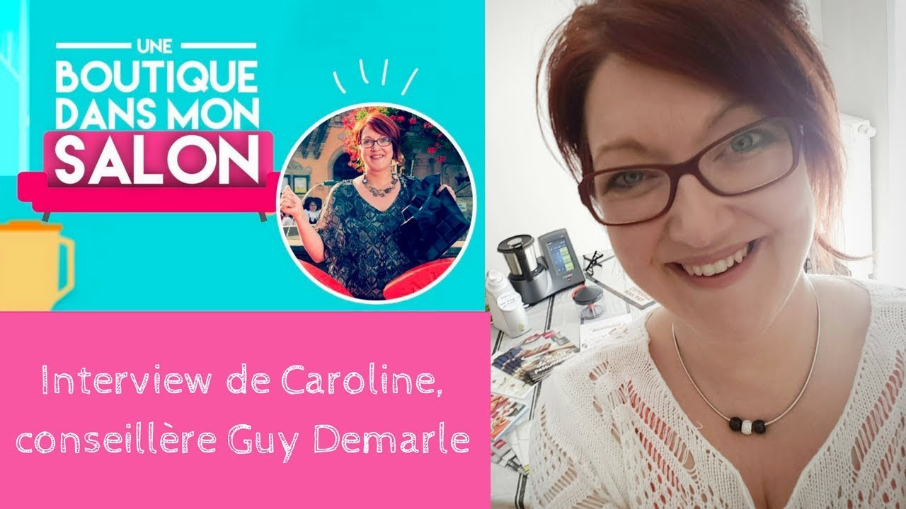 interview de la gagnante d 39 une boutique dans mon salon caroline miguel conseill re guy demarle. Black Bedroom Furniture Sets. Home Design Ideas