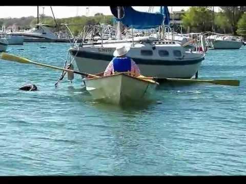 Rowing my Skerry.wmv