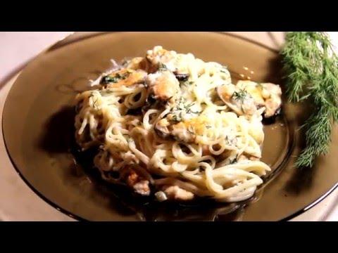 Мидии в сливочно чесночном соусе - Рецепт Максимум вкуса