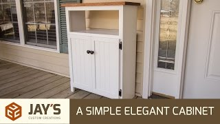 Making A Simple Elegant Cabinet - 233