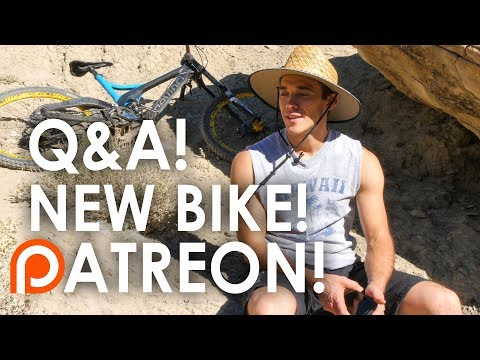 Q&A from UTAH!  PATREON!!  I bought a NEW BIKE!!  Will I ever switch to 27.5?
