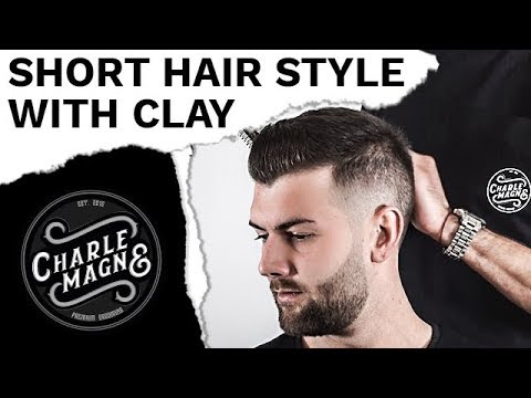 Short Hair Style With Clay Classic Mens Hair Style Hairstyle