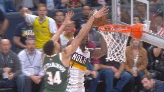 Giannis Blocks Zion Williamson! 2019-20 NBA Season