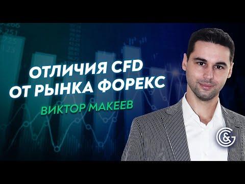 🔴 Узнайте о Торговле CFD. Чем отличается торговля CFD и Форекс. Виктор Макеев.